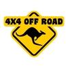 stickers roadsign ref 3 dakar land rover the best 4x4 tout terrain rallye competition pneu tuning amortisseur autocollant fffsa (2)