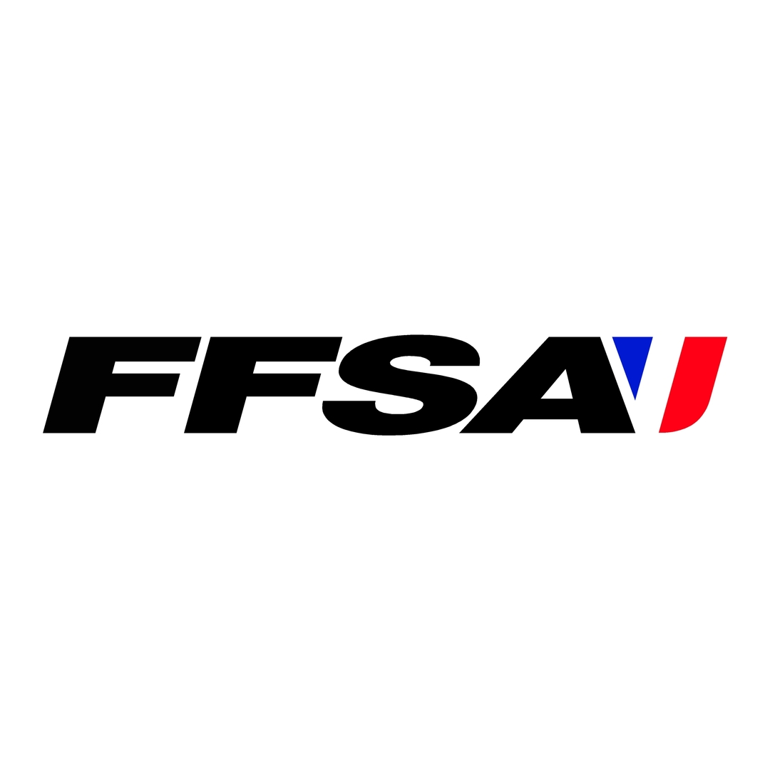 stickers ffsa ref 2 tuning audio sonorisation car auto moto camion competition deco rallye autocollant