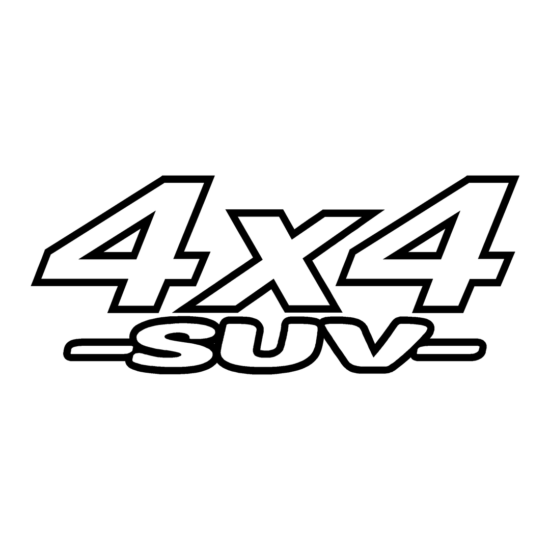 stickers-logo-4x4-suv-ref13-tout-terrain-autocollant-pickup-6x6-8x8