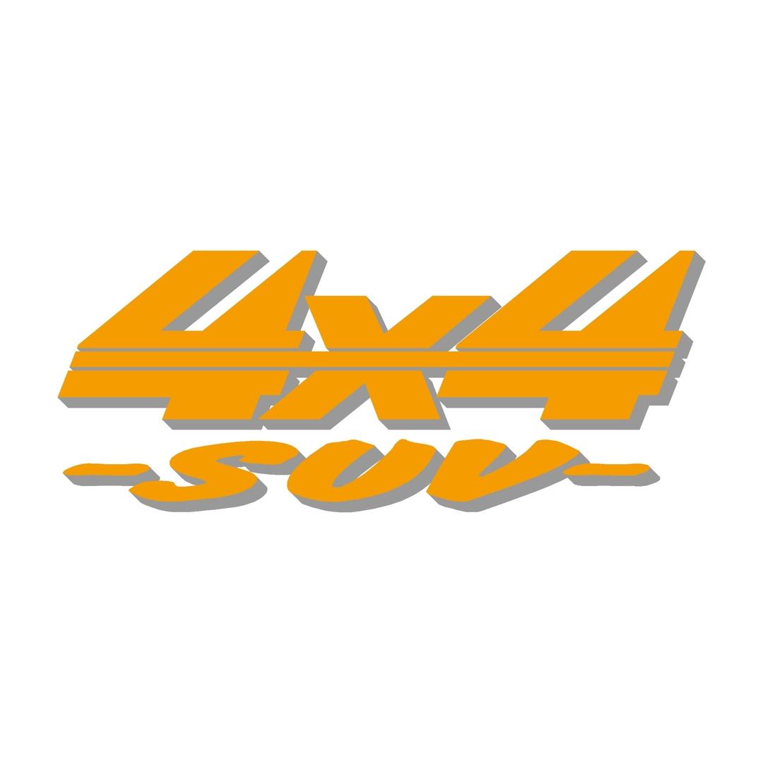 stickers-logo-4x4-suv-ref67-tout-terrain-autocollant-pickup-6x6-8x8