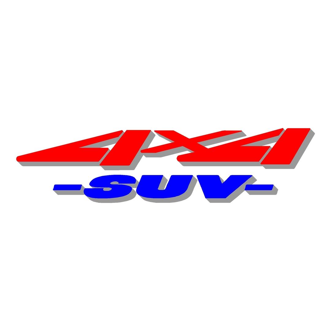 stickers-logo-4x4-suv-ref46-tout-terrain-autocollant-pickup-6x6-8x8