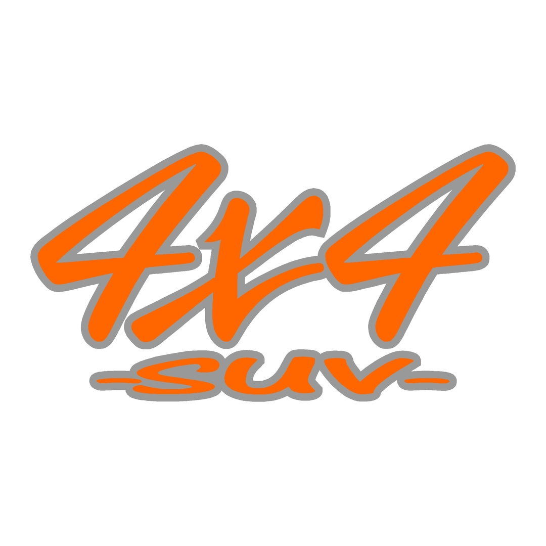 stickers-logo-4x4-suv-ref56-tout-terrain-autocollant-pickup-6x6-8x8