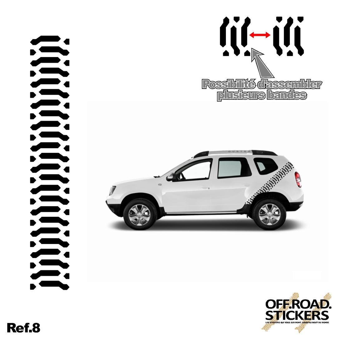 trace de pneu ref8