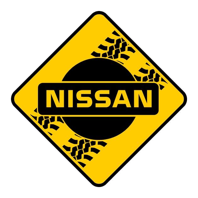 stickers nissan 4x4 ref 6 roadsign dakar land rover 4x4 tout terrain rallye competition pneu tuning amortisseur autocollant fffsa (2)