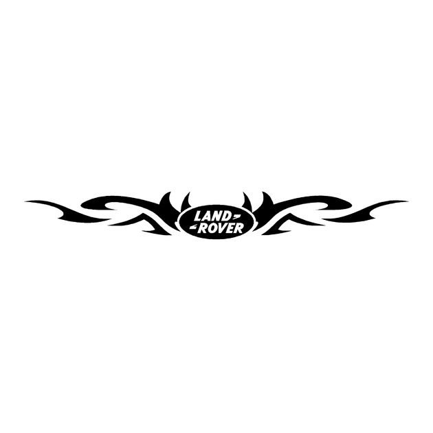 stickers-land-rover-ref45-tribal-logo-discovery-td5-4x4-defender-90-range-freelander-tout-terrain-autocollant-rallye-110-109-130