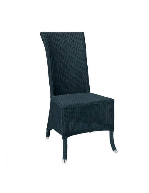 chaise_amelie_loom_bleu_paon_villa_et_demeure