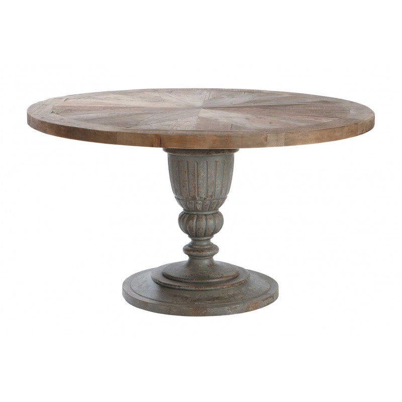 table ronde magistrale 140 cm villa demeure. Black Bedroom Furniture Sets. Home Design Ideas