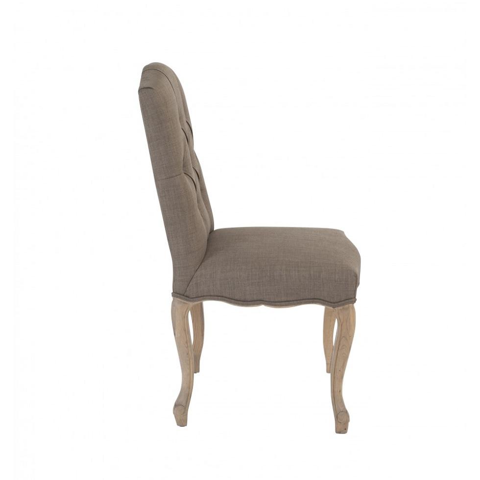 Chaise l'ARLESIENNE CAPITONNEE H 100 cm ASSISESCHAISES