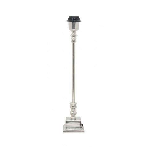 Lampe Nickel Chrome Rangpur H 44 Cm Villa Demeure