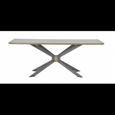 Table SPIDER Chêne et Métal
