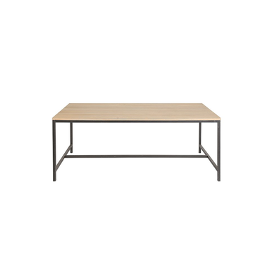Table Rectangle INDUSTRIEL Chêne L 200 cm