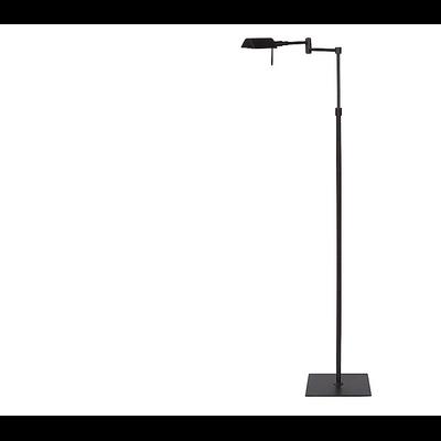 Lampadaire DEAN Mat Black H 90-140 cm