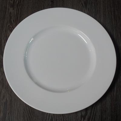Assiettes Dessert ANICE Blanc Porcelaine (les 6)