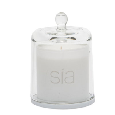 Bougie Parfumée ORCHIDEE SIA avec cloche H 15 CM