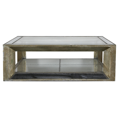 Table Basse MITCHELL Flamant Carré 122 X 122 cm
