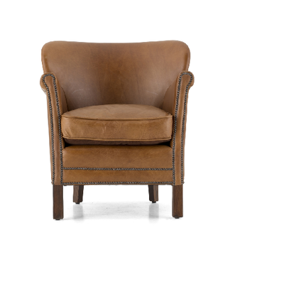 Fauteuil MASTER CLUB Vintage Flamant