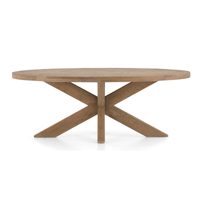 Table FORINO II SMALL Flamant L 210 cm (existe en L 264 cm)