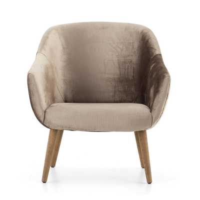 Fauteuil LENTILLY Naturel  Flamant