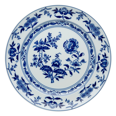 Plat Rond Plat Porcelaine MARGAO Ø 33,2 cm