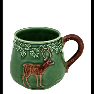 Mug Chasse CERF Faïence (vendu par 4)