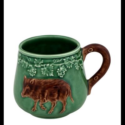 Mug Chasse SANGLIER Faïence (vendu par 4)