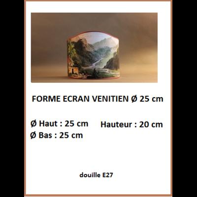 """Forme """"Ecran Vénitien Ø 25 cm"""""""