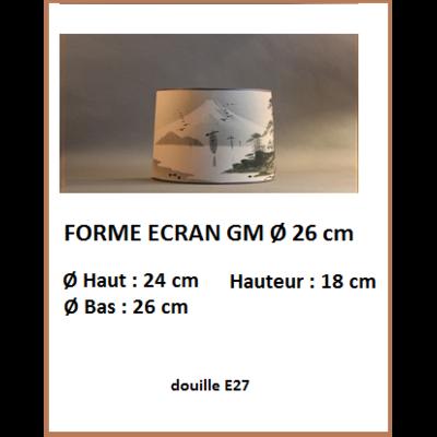 "Forme ""Ecran GM Ø 26 cm"""