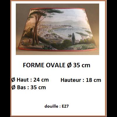 """Forme """"Ovale GM Ø 35 cm"""""""