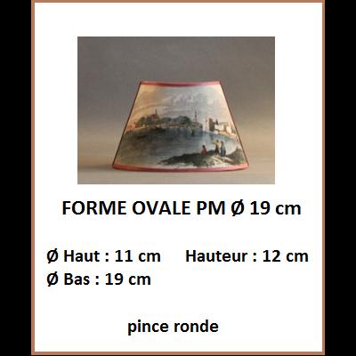 """Forme """"Ovale PM Ø 19 cm"""""""