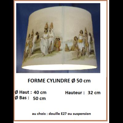 """Forme """"Cylindre Ø 50 cm"""""""