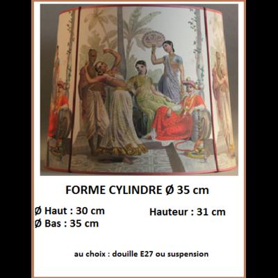 """Forme """"Cylindre Ø 35 cm"""""""