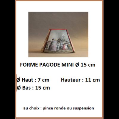 "Forme ""Pagode Mini Ø 15 cm"""