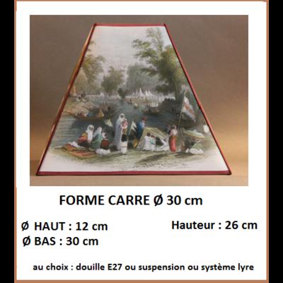 "Forme ""Carré Ø 30 cm"""
