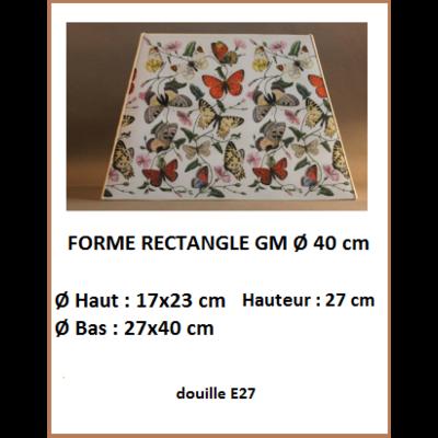 "Forme ""Rectangle Ø 40 cm"""