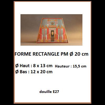 "Forme ""Rectangle Ø 20 cm"""