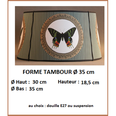 "Forme ""Tambour Ø 35 cm"""