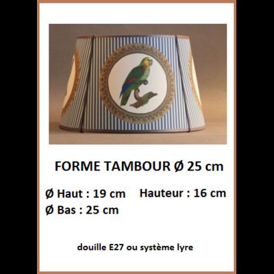 "Forme ""Tambour Ø 25 cm"""