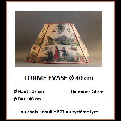"""Forme """"Evasé Ø 40 cm"""""""