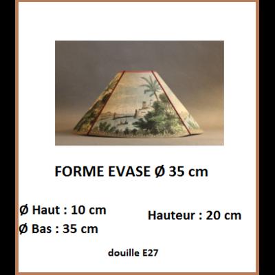 """Forme """"Evasé Ø 35 cm"""""""