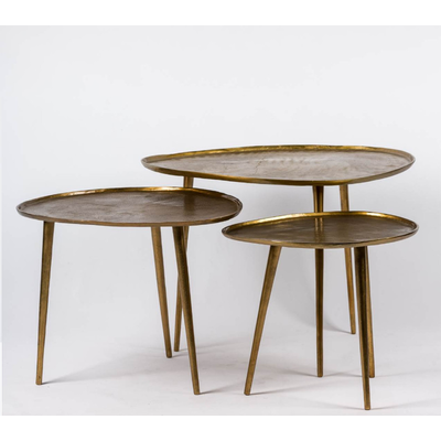 Table Basse GOLD (Set de 3)