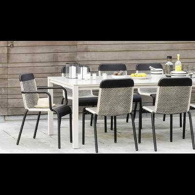 Table de Repas Jardin SIENNA L 220 x P 100 cm