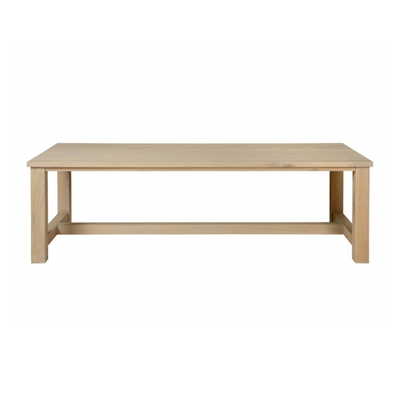 Table BERLIN Chêne L 250 x P 100 x H 76 cm