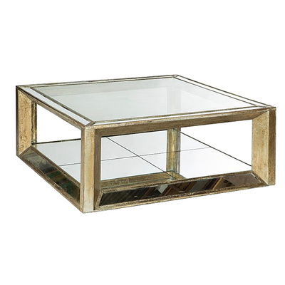 Table Basse MIROIR L 122 x 122 x H 47 cm