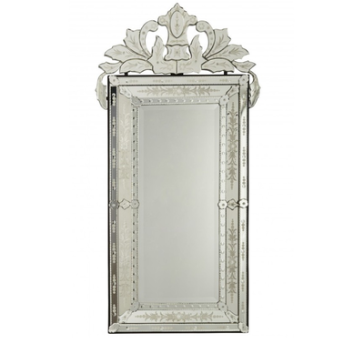 Miroir BAROQUE Vénitien H 140 cm