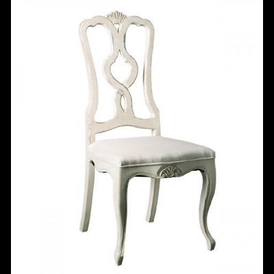 Chaise VICTORIA assise en Lin H 110 cm