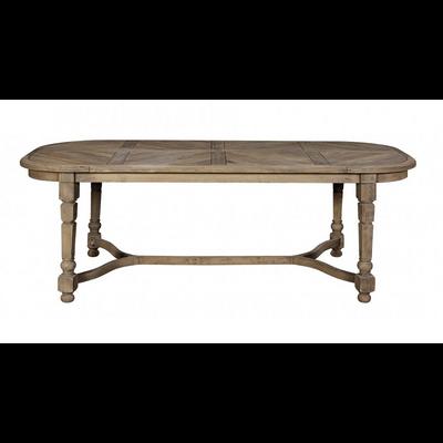Table Ovale en Chêne L 220 x P 100 cm