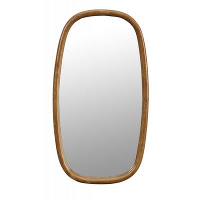 Miroir OVAL Doré
