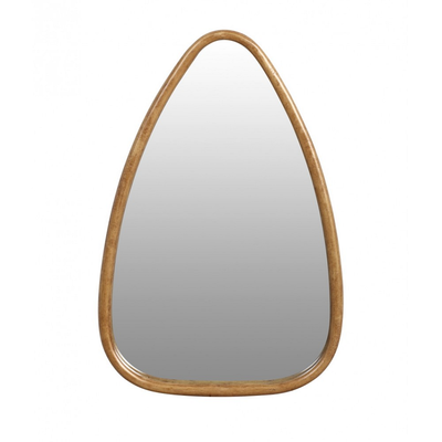 Miroir TRIANGLE Doré