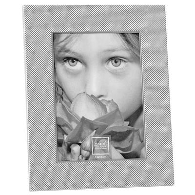 Cadre Photo Alu Mat Points Brillants (13x18 cm)