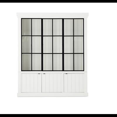 Bibliothèque IRON JASON III 3 Portes BLANC L 192 cm